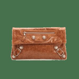 Style Theory Bags-Balenciagametallic edge envelope clutch