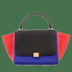 Style Theory Bags-Celine Tri Colour Medium Trapeze