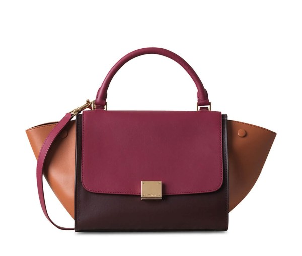 Style Theory Designer Bags_Celine Trapeze Small PInk
