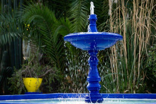 Majorelle Garden Fountain – Morocco