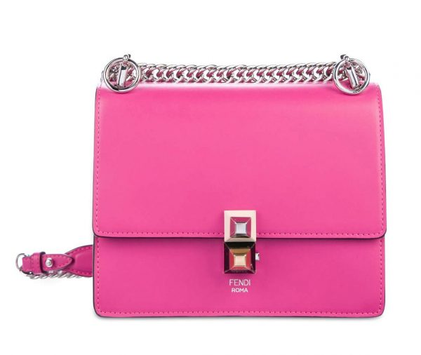 designer spotlight fendi-small-kan-i-fuchsia-pink-c