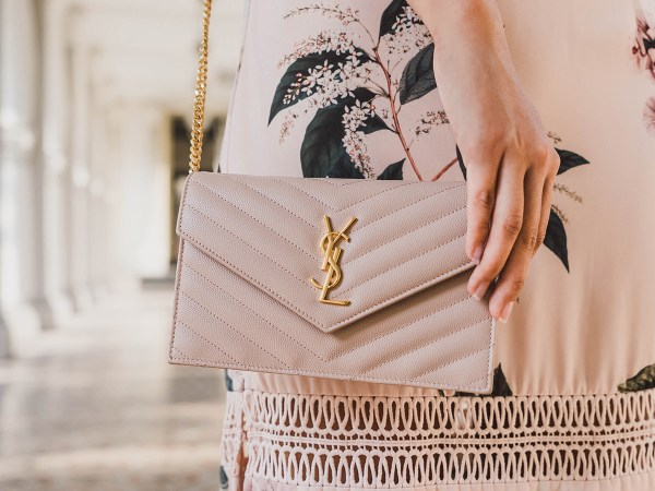 Anatomy of a Saint Laurent Chain Wallet for Weddings