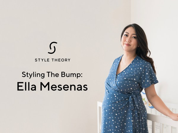 Styling The Bump: Ella Mesenas