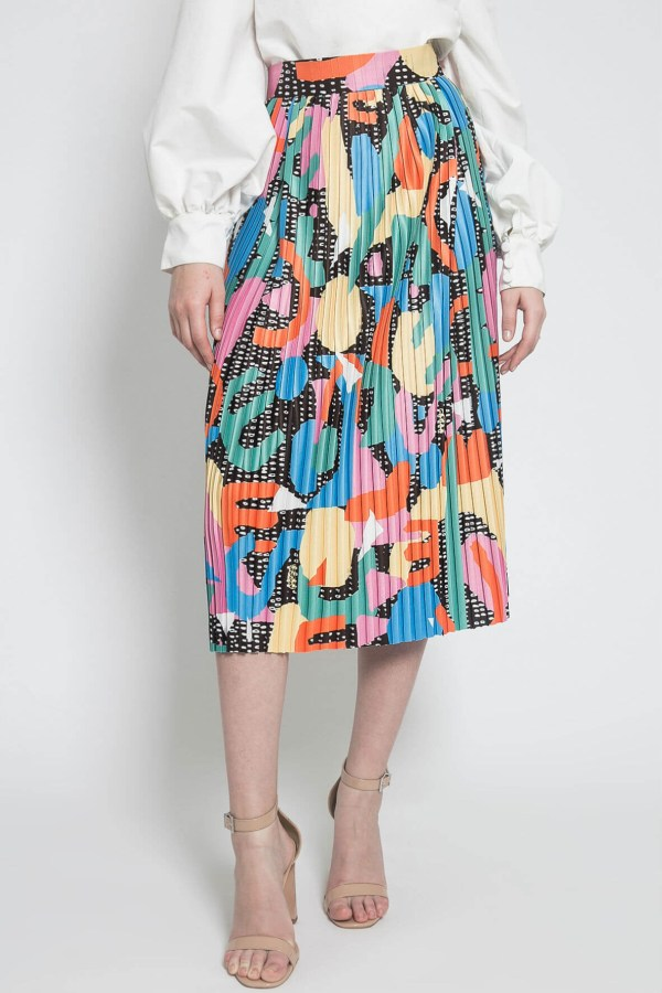 Style Theory Calla The Label Candy Pleats Skirt