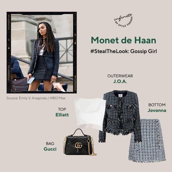 Monet de Haan Gossip Girl Style