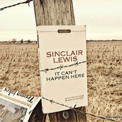 Dystopian Novel Series Part III – It Can't Happen Here by Sinclair Lewis | Episode 044