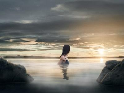 Islandia: Inauguran laguna termal con vista al mar