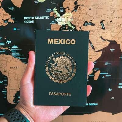 Nuevo Pasaporte Mexicano Electrónico