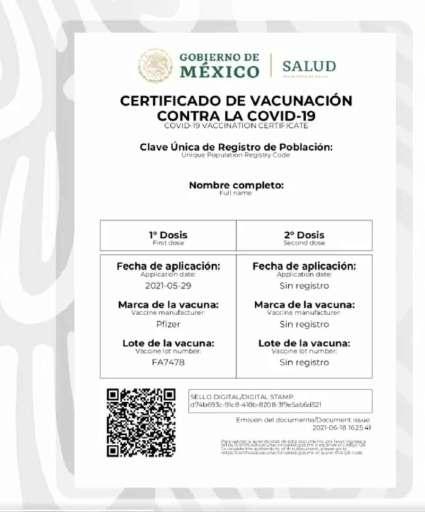 certificado de vacunacion 2
