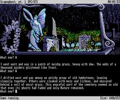 Screenshot: 'Scapeghost' also looks very nice on the Atari ST