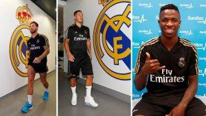 Real Madrid players return for pre-season training
