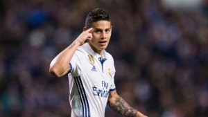 James wants to join Atletico Madrid
