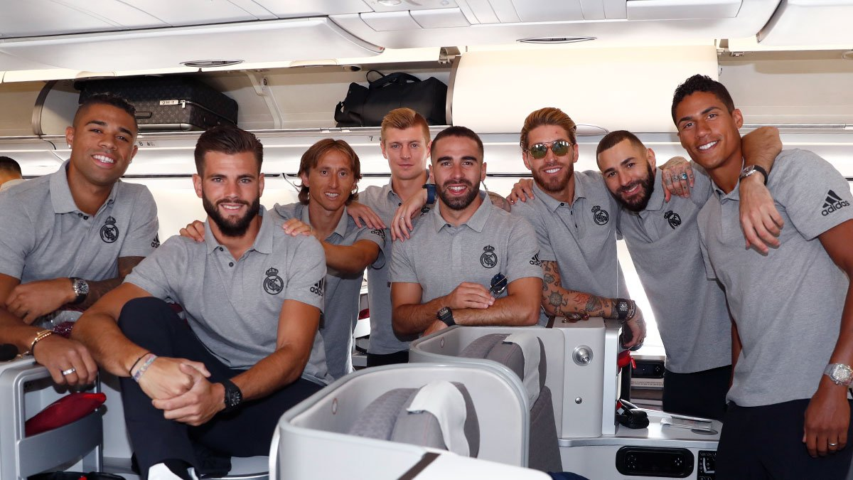 Confirmed: Real Madrid's travelling squad for pre-season