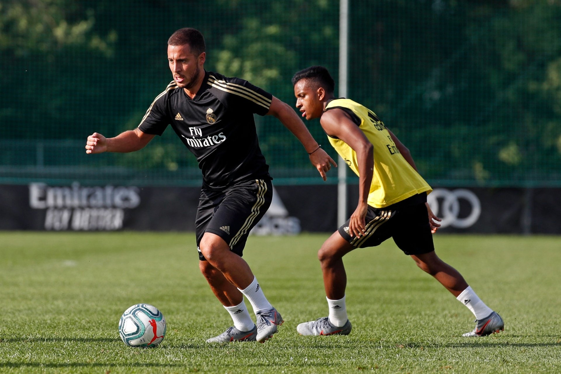 Hazard is eager to impress everyone