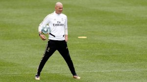 """Zidane: """"We worked well so far and we're ready to play"""""""