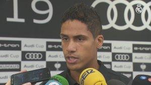 "Varane: ""We'll be ready when the season starts"""