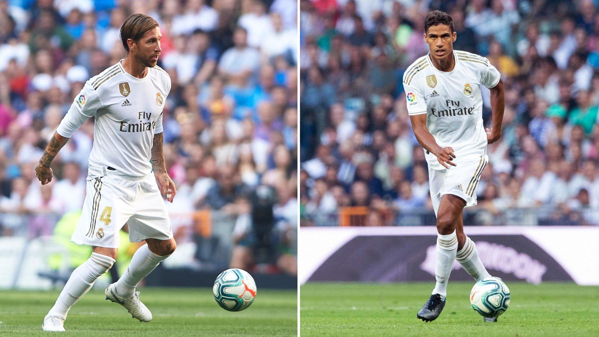 Varane and Ramos react to Valladolid draw