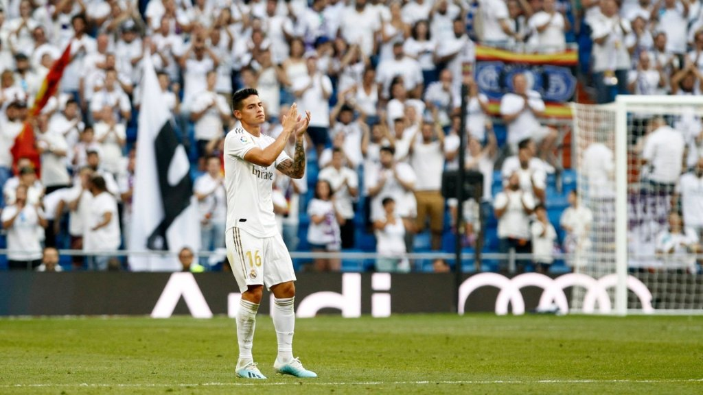 James Rodriguez suffers muscle injury