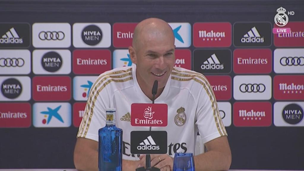 "Zidane: ""We're ready and happy to begin this new campaign"""