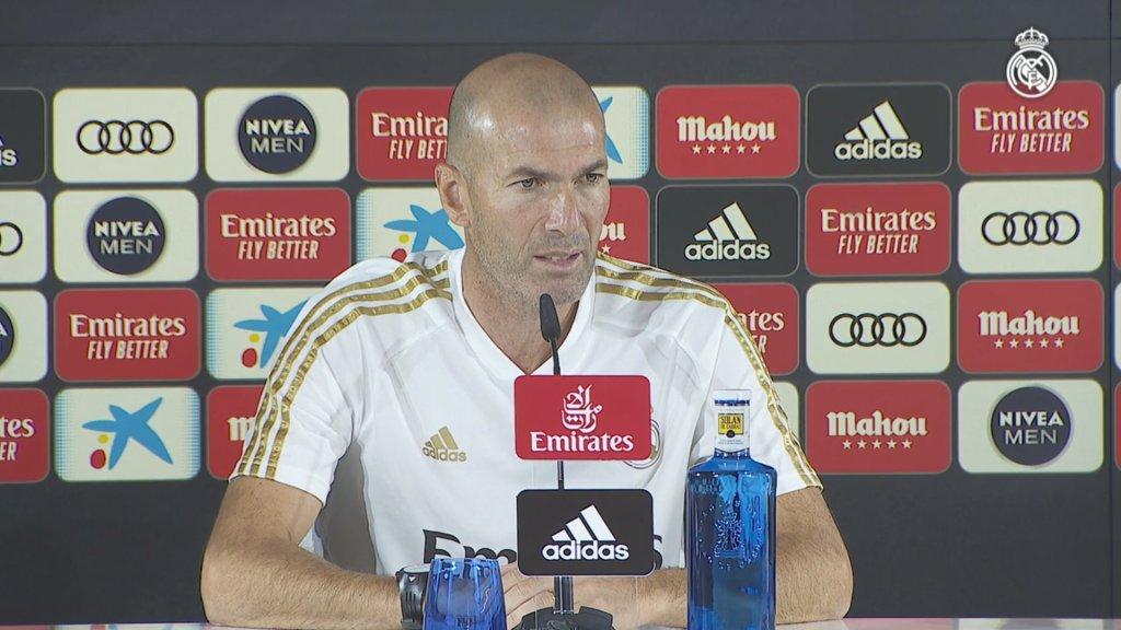 "Zidane: ""We're prepared to put in a big performance"""