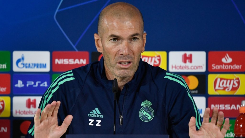 "Zidane: ""We need to give everything to beat Brugge"""