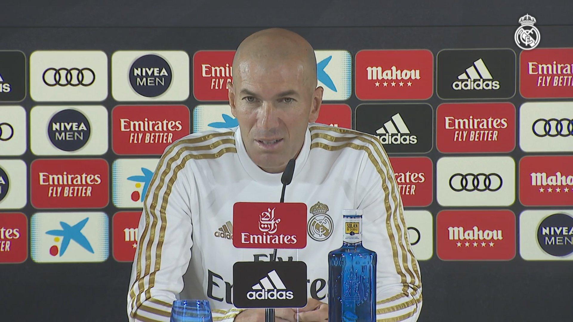 "Zidane: ""Nobody is a guaranteed starter at Real Madrid"""