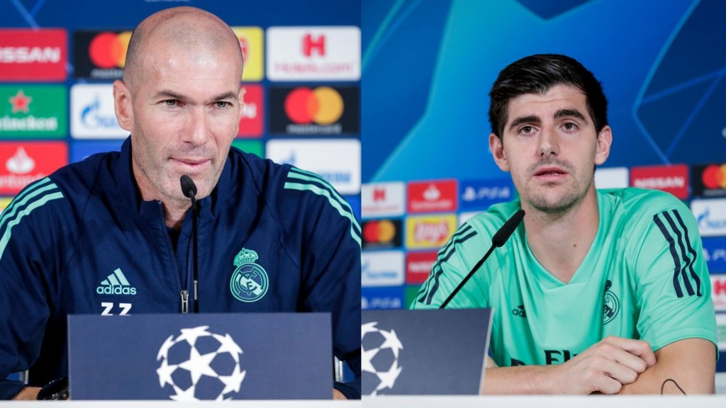 Zidane and Courtois on PSG, Gareth Bale, Mbappé and more