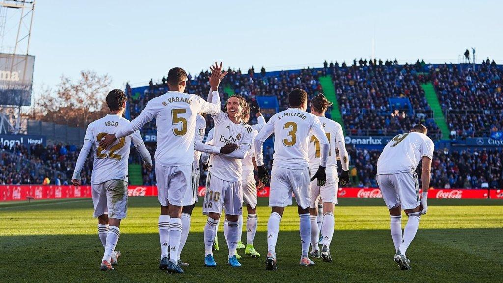 Report: Getafe 0-3 Real Madrid