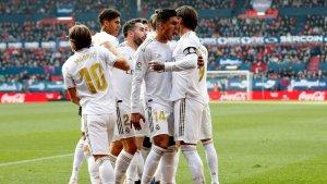 Report: Osasuna 1-4 Real Madrid