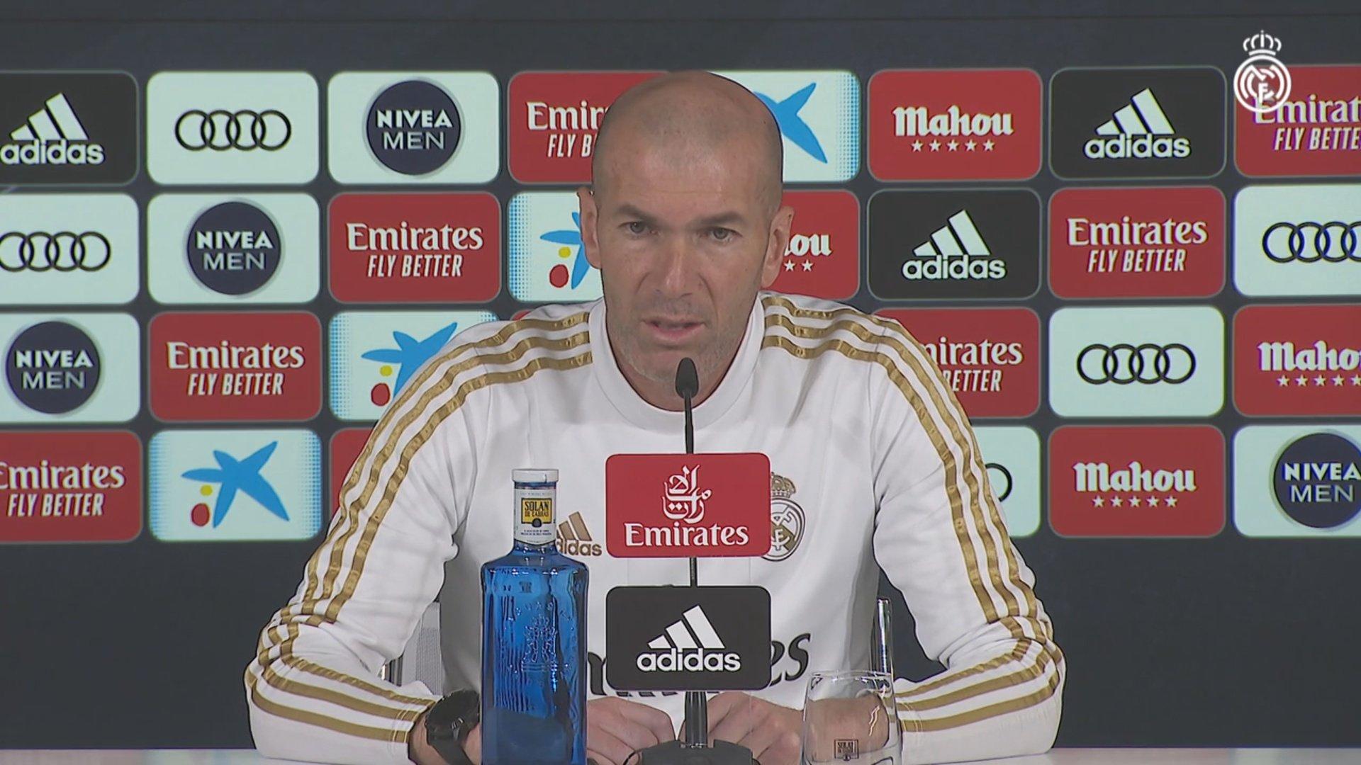 Zidane on Osasuna, Copa del Rey elimination, Marcelo, Bale & more