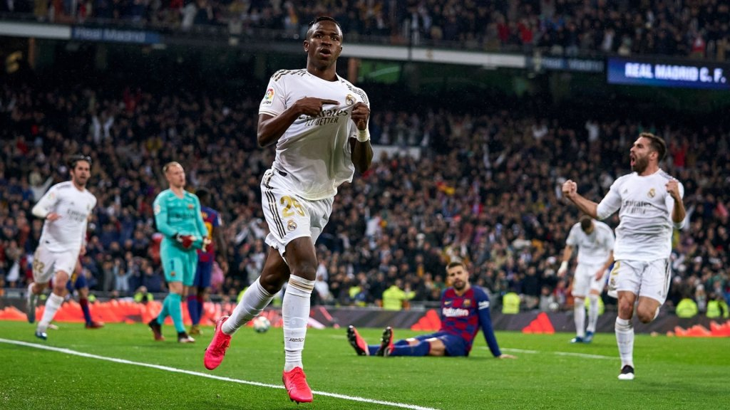 "Vinicius Jr: ""It's my best night as a Real Madrid player"""
