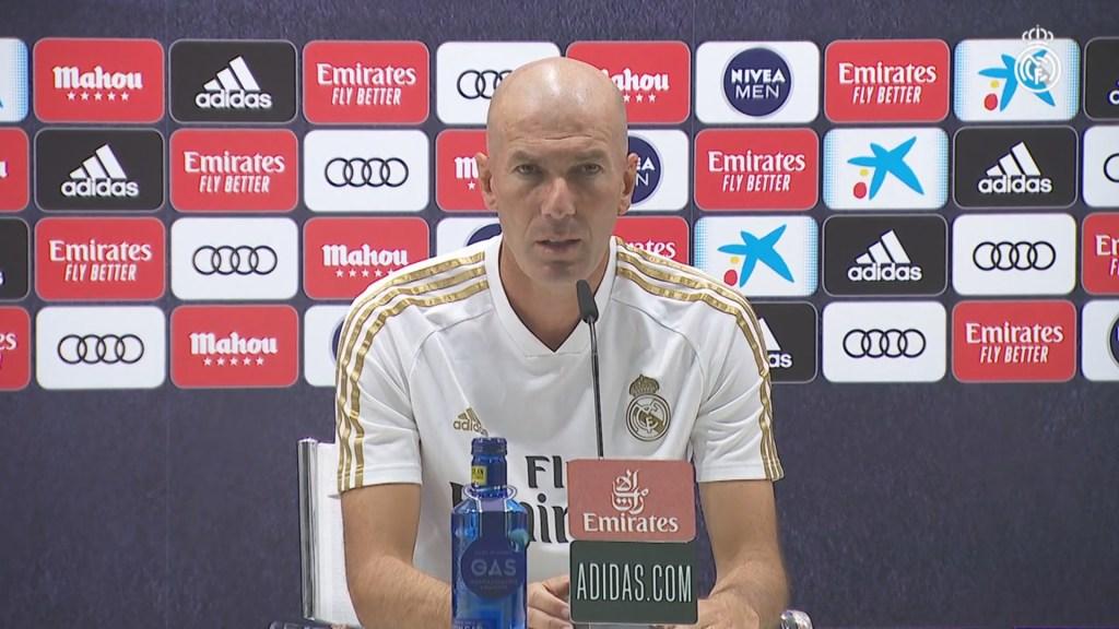 Zidane's pre-Alavés press conference in full