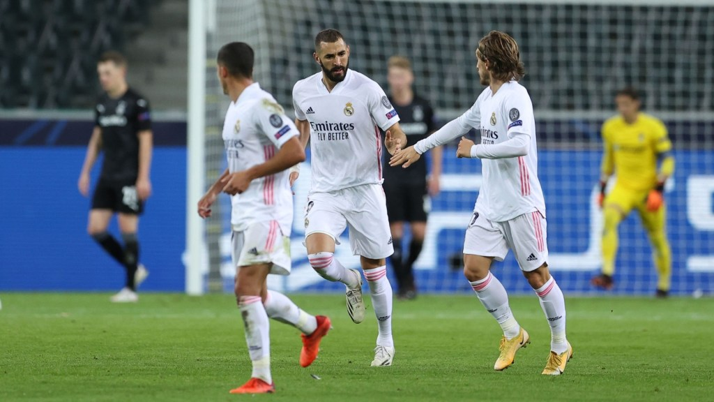 Match report: Borussia Mönchengladbach 2-2 Real Madrid