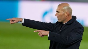 Zidane remains the man to lead Madrid's transition