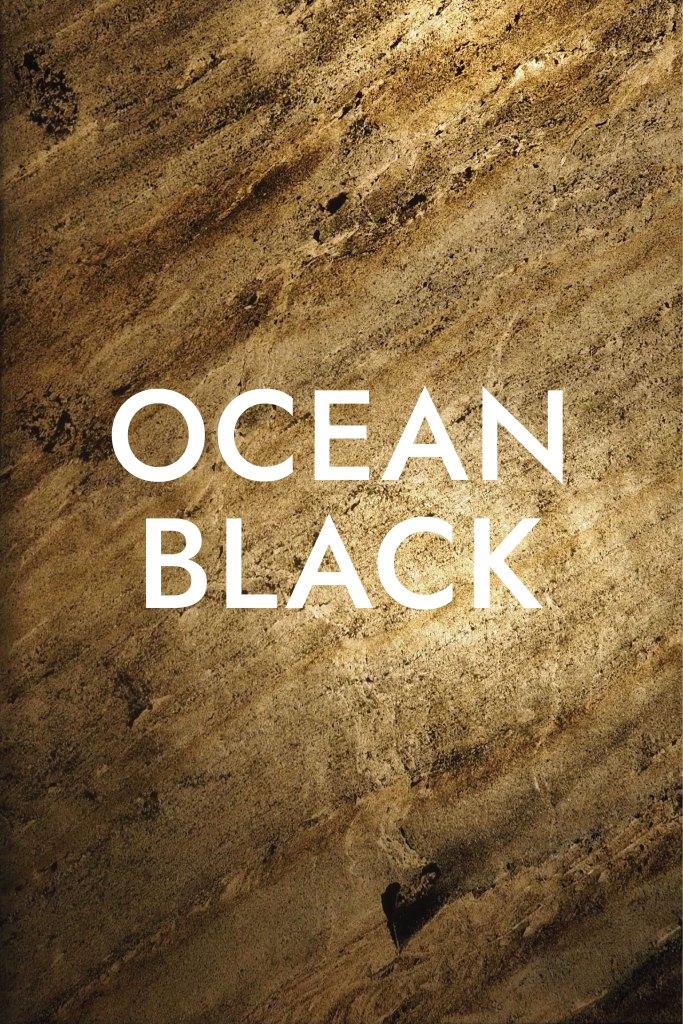 แผ่นหินวีเนียร์ โปร่งแสง Ocean Black