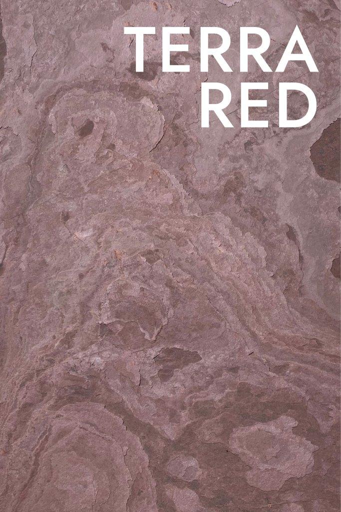 แผ่นวีเนียร์หินทึบแสง Terra Red