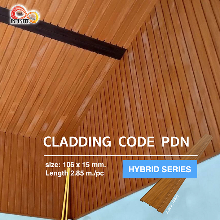 การติดตั้งไม้ฝ้าและผนัง PDN ภายใน