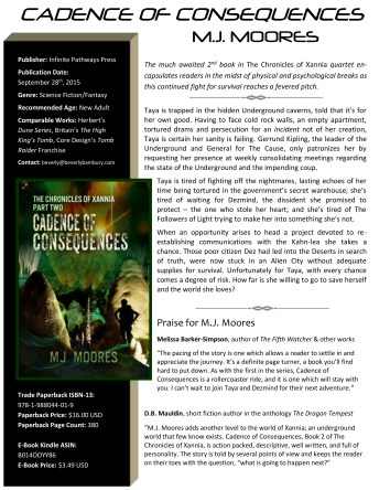 ONE PAGE - MJ Moores - Cadence of Consequences-1