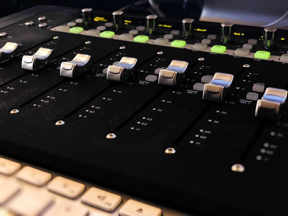 Infinite Recording - Artist Mix Control Surface @ Infinite Recording