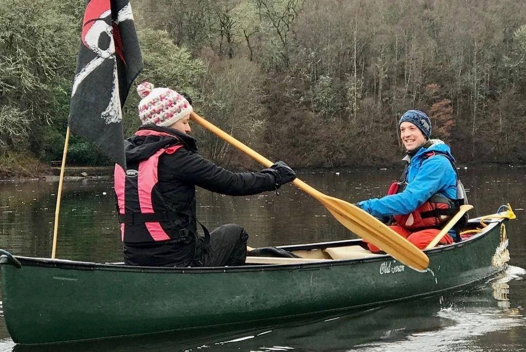 Bespoke activities including canoeing trips on Scotland's lochs