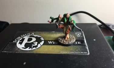 The first Frostgrave model painted up.