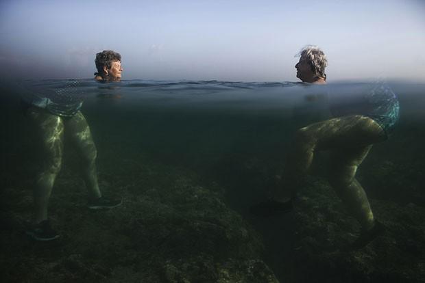 Imagem foi feita durante onda de calor em Cuba (Foto: Alexandre Meneghini/Sony World Photography Awards)