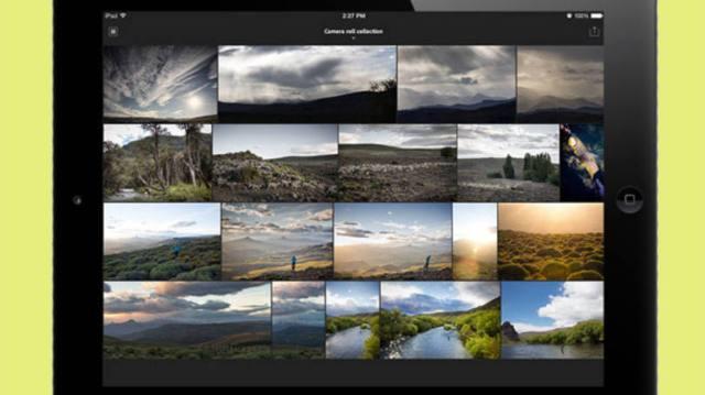 Lightroom mobile: app está disponível de graça para iPads - Divulgação/Adobe