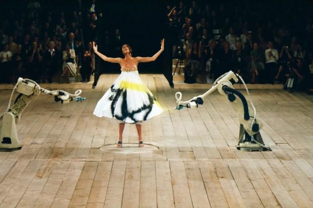 'Unseen' Backstage Alexander McQueen photos from the new Robert Fairer Book.