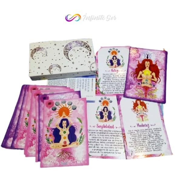 Orácula de Sanación - Tarot Femenino