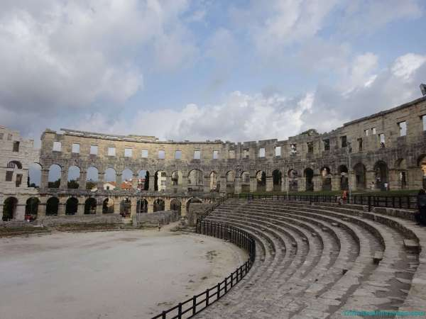 Anfiteatro de Pula - Que ver en Croacia