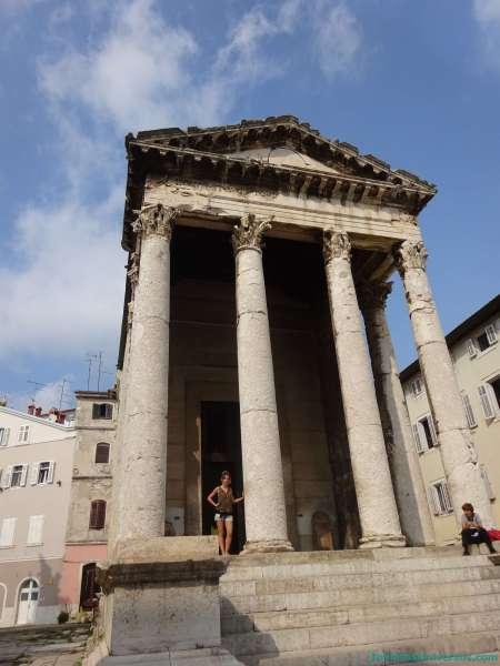 Templo Augusto de Pula - Que ver en Croacia