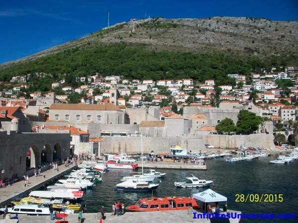 Puerto viejo de Dubrovnik croacia en 10 días