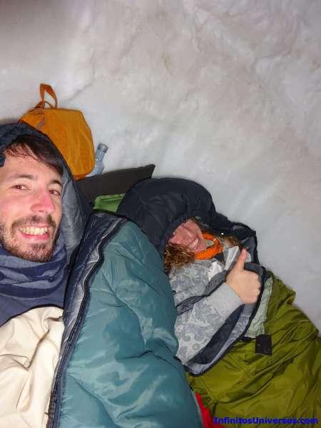 dormir en los pirineos mushing