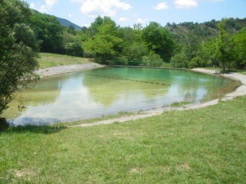 Piscina fluvial. Fuente: Wikiloc foz de Benasa barranco de la foz de benasa